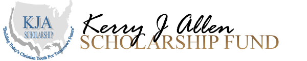 Kerry J Allen Scholarships Logo